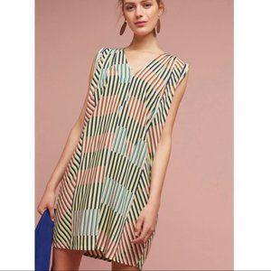 Anthropologie The Odells Leslie Geo Tunic Dress S